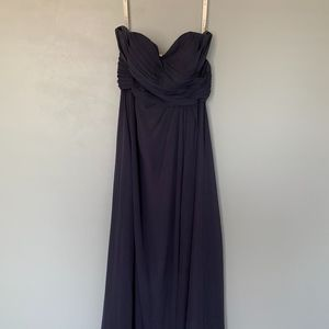 Arabelle Allure Chiffon Maxi Dress - Stormy